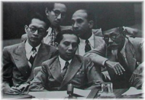 Sumitro, Sjahrir, Soedjatmoko, Agus Salim